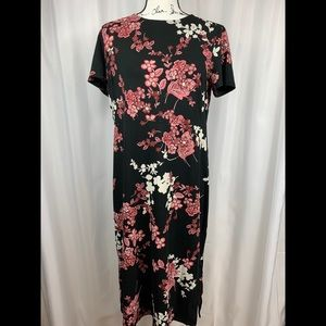 Women's Floral Maxi Dress by J Jill Size S